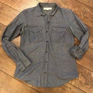 LOFT Chambray Denim Shirt